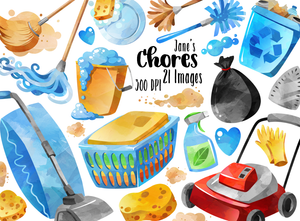 Chores Graphics Set