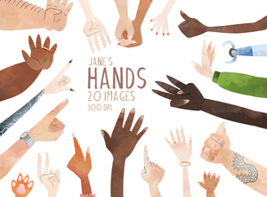 Hands Graphics Set
