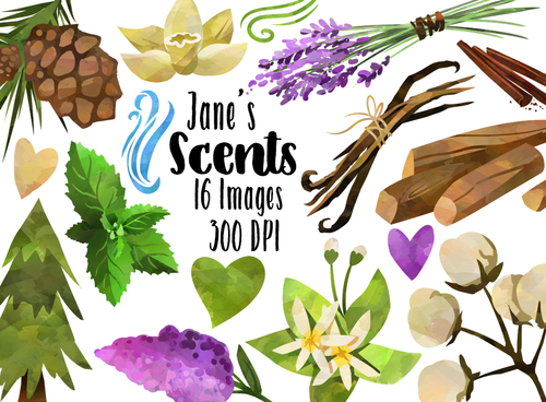 Scents Graphics Set