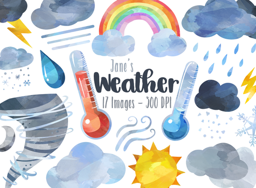 Weather Graphics Set