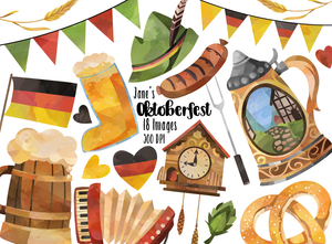 Oktoberfest Graphics Set