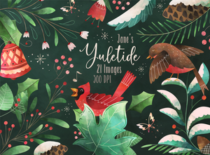 Yuletide Graphics Set