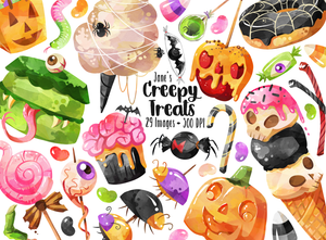 Halloween Candy Graphics Set