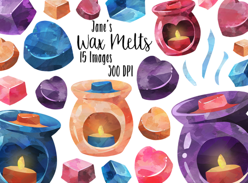 Wax Melt Graphics Set