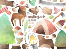 Lumberjack Graphics Set