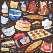 Baking Graphics Set