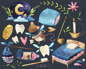Tooth Fairy Graphics Set
