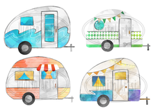 Campers Graphics Set