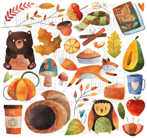 Fall Graphics Set