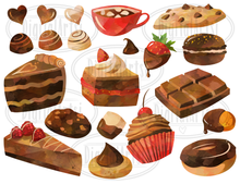 Chocolate Graphics Set