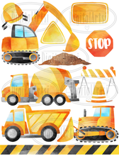 Construction Graphics Set