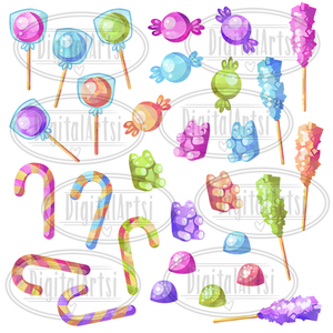Candy Graphics Set