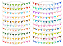 Bunting Graphics Set