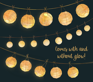 Paper Lanterns Graphics Set