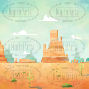 Desert Graphics Set