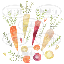 Carrots Graphics Set