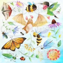 Pollinators Graphics Set
