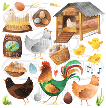 Chicken Graphics Set