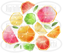 Citrus Graphics Set