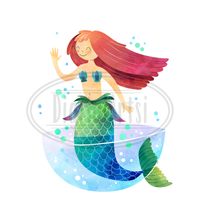 Mermaids Graphics Set