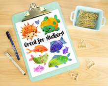 Tropical Fish Graphics Set
