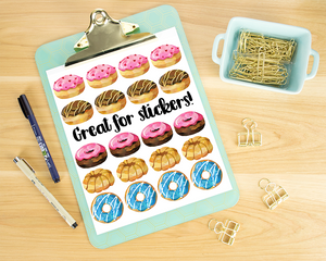 Donuts Graphics Set
