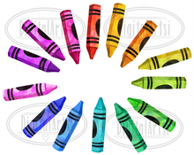 Crayon Graphics Set