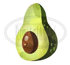 Avocado Graphics Set