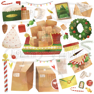 Christmas Graphics Set