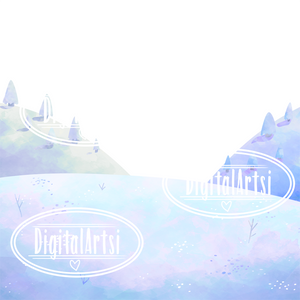 Snowy Hills Graphics Set