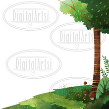Forest Path Graphics Set