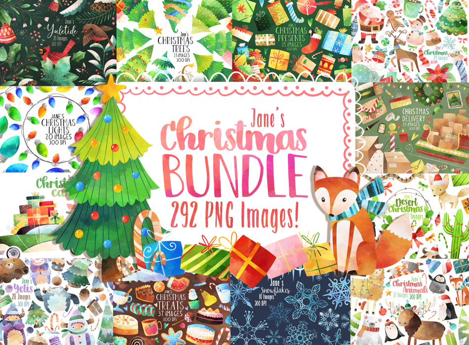 Christmas Bundle Graphics Set