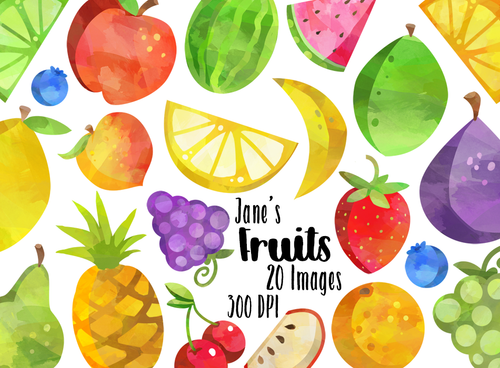 Fruits Graphics Set