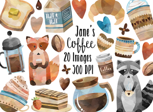 Coffee Graphics Set