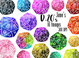D-20 Graphics Set