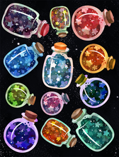 Bottled Stars Graphics Set