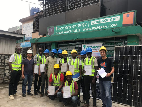 Solar training in Nigeria