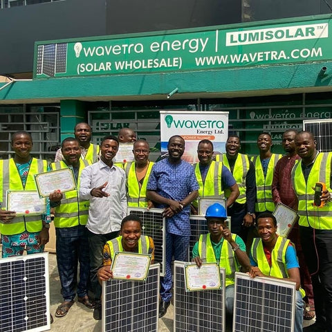 Wavetra Energy Academy solar installation training
