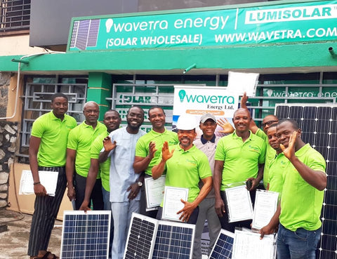 Wavetra Energy Academy solar/Inverter training