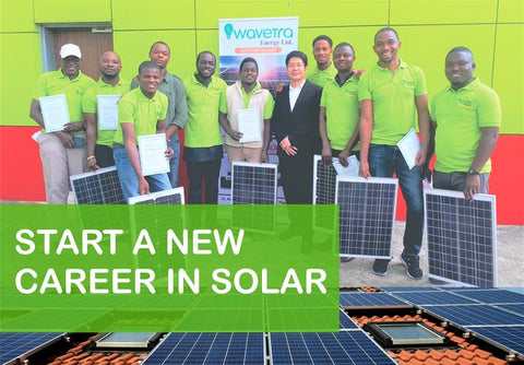 Wavetra Energy Academy - solar inverter training
