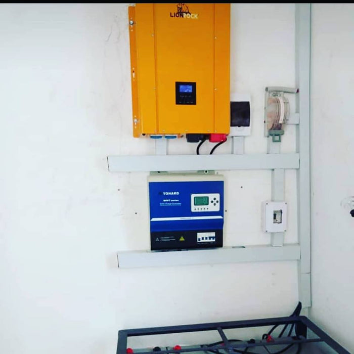 12kVA Inverter power system plan plus installation Complete system installation Wavetra Energy