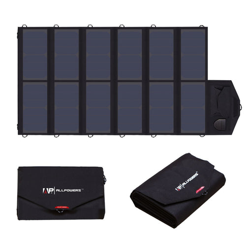 Foldable 80W Solar Panel For Laptops, Tablets & Mobile Phones Solar Panel Wavetra Energy