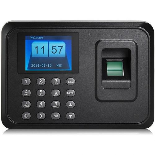 Biometric Electronic Time Attendance Register Machine with Fingerprint Reader Accessories Wavetra Energy