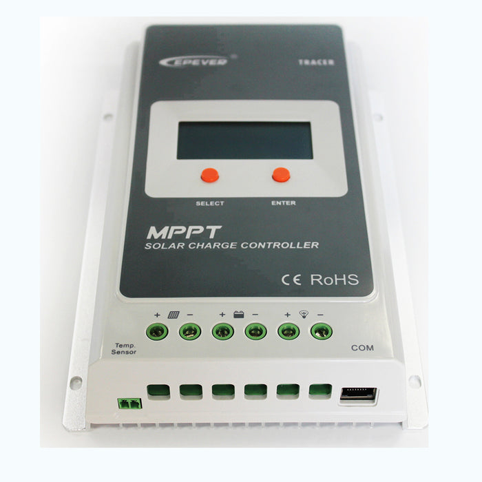 EPever 12V/24V auto 40A MPPT Programmable Solar charge controller Controller Wavetra Energy