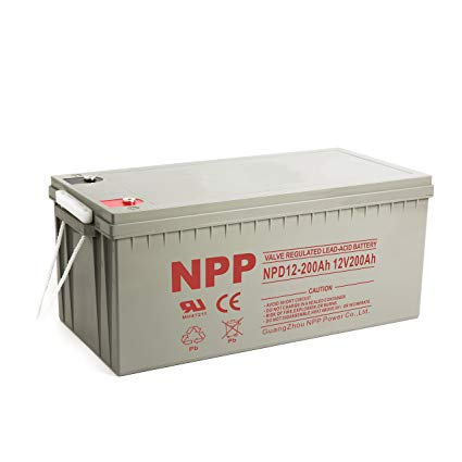 NPP 12V 200Ah AGM deep cycle battery Deep cycle batteries Wavetra Energy