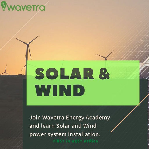Wind turbine generator installation and solar power system training course