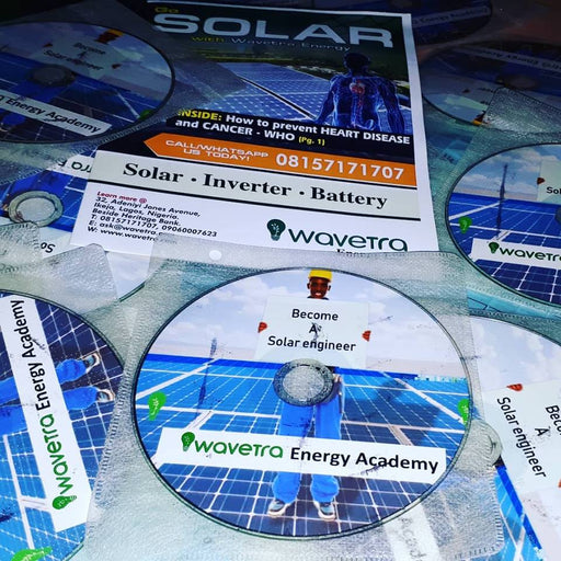 Solar and Inverter installation Training tutorial videos in DVD