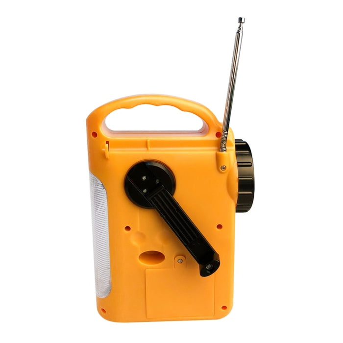 Outdoor Emergency Hand Crank Solar Dynamo AM/FM Radios Power Bank with LED Lamp LED and Torchlight Wavetra Energy