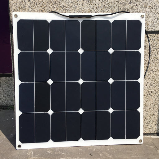 Sunpower 18V 50W Flexible Solar Panel Modules for Fishing Boat Car RV 12V Battery High Efficiency 50W Solar Charger Solar Panel Wavetra Energy