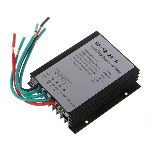 High Efficiency 600W 12V/24V Waterproof Wind Turbine Generator Charge Controller Wind Controller